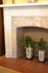 Original mantles throughout the house.  Many with handpainted faux marble.