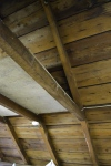 Just look at the attic ceiling/roof construction!